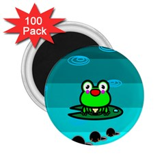 Frog Tadpole Green 2.25  Magnets (100 pack)