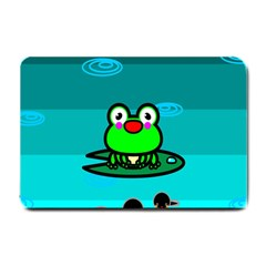 Frog Tadpole Green Small Doormat