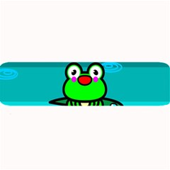 Frog Tadpole Green Large Bar Mats