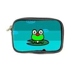 Frog Tadpole Green Coin Purse