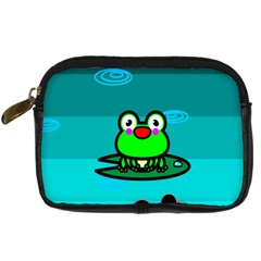 Frog Tadpole Green Digital Camera Cases