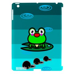 Frog Tadpole Green Apple iPad 3/4 Hardshell Case (Compatible with Smart Cover)