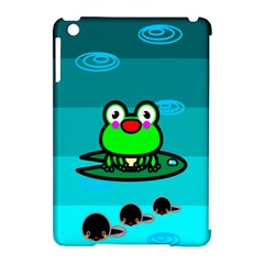 Frog Tadpole Green Apple iPad Mini Hardshell Case (Compatible with Smart Cover)