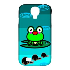 Frog Tadpole Green Samsung Galaxy S4 Classic Hardshell Case (PC+Silicone)
