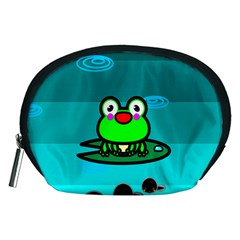 Frog Tadpole Green Accessory Pouches (Medium)