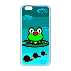 Frog Tadpole Green Apple Seamless iPhone 6/6S Case (Color)