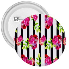 Flower Rose 3  Buttons