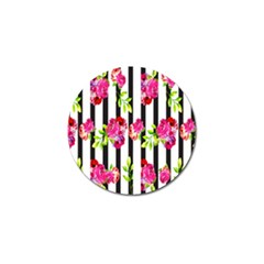 Flower Rose Golf Ball Marker (10 pack)