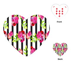 Flower Rose Playing Cards (Heart)