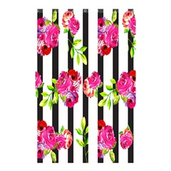 Flower Rose Shower Curtain 48  x 72  (Small)
