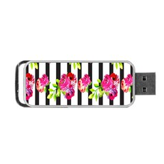 Flower Rose Portable USB Flash (Two Sides)