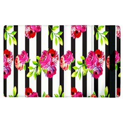 Flower Rose Apple iPad 3/4 Flip Case
