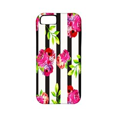 Flower Rose Apple iPhone 5 Classic Hardshell Case (PC+Silicone)