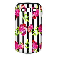 Flower Rose Samsung Galaxy S III Classic Hardshell Case (PC+Silicone)