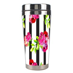 Flower Rose Stainless Steel Travel Tumblers