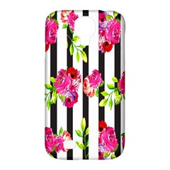 Flower Rose Samsung Galaxy S4 Classic Hardshell Case (PC+Silicone)