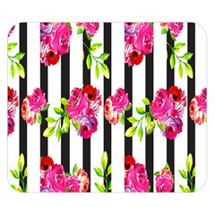 Flower Rose Double Sided Flano Blanket (Small)