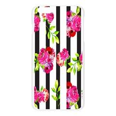 Flower Rose Apple Seamless iPhone 6 Plus/6S Plus Case (Transparent)