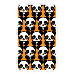 Halloween Night Cute Panda Orange Memory Card Reader