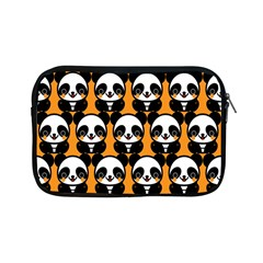 Halloween Night Cute Panda Orange Apple iPad Mini Zipper Cases