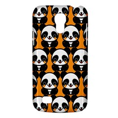 Halloween Night Cute Panda Orange Galaxy S4 Mini