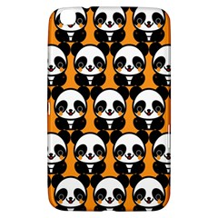 Halloween Night Cute Panda Orange Samsung Galaxy Tab 3 (8 ) T3100 Hardshell Case