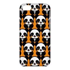 Halloween Night Cute Panda Orange Apple iPhone 5C Hardshell Case
