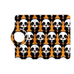Halloween Night Cute Panda Orange Kindle Fire HD (2013) Flip 360 Case