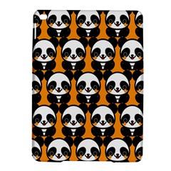 Halloween Night Cute Panda Orange iPad Air 2 Hardshell Cases