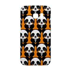 Halloween Night Cute Panda Orange Galaxy S6 Edge