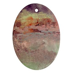Sunrise Ornament (Oval)
