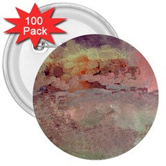 Sunrise 3  Buttons (100 pack)