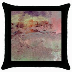 Sunrise Throw Pillow Case (Black)