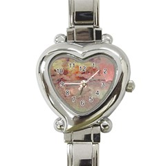 Sunrise Heart Italian Charm Watch