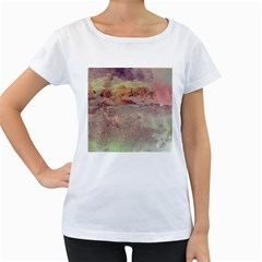 Sunrise Women s Loose-Fit T-Shirt (White)