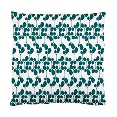 Flower Tree Blue Standard Cushion Case (Two Sides)