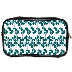 Flower Tree Blue Toiletries Bags 2-Side