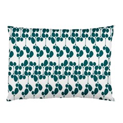 Flower Tree Blue Pillow Case (Two Sides)