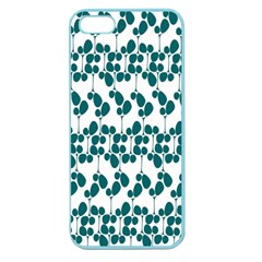 Flower Tree Blue Apple Seamless iPhone 5 Case (Color)