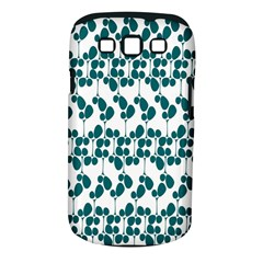 Flower Tree Blue Samsung Galaxy S III Classic Hardshell Case (PC+Silicone)