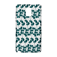 Flower Tree Blue Samsung Galaxy Note 4 Hardshell Case