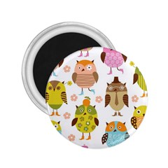 Highres Owls 2.25  Magnets