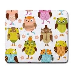 Highres Owls Large Mousepads
