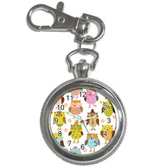 Highres Owls Key Chain Watches