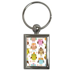 Highres Owls Key Chains (Rectangle)