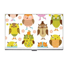 Highres Owls Business Card Holders