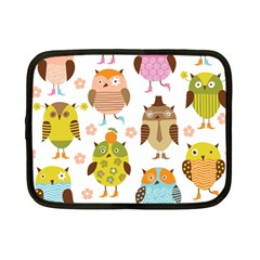 Highres Owls Netbook Case (Small)
