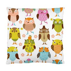Highres Owls Standard Cushion Case (Two Sides)