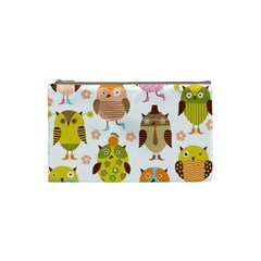 Highres Owls Cosmetic Bag (Small)