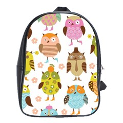 Highres Owls School Bags(Large)